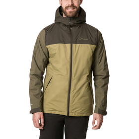 Berghaus Deluge Pro 2.0 Insulated Jacket Men olive drab/ivy green/peat